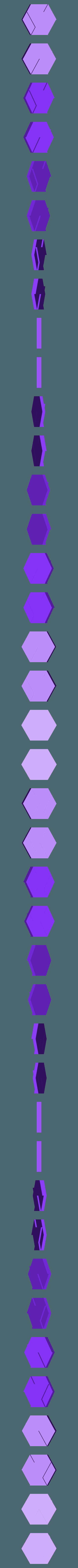 Minimal_Hexagon_STL.stl Télécharger fichier STL gratuit Hexagone minimal • Design imprimable en 3D, Isi8Bit