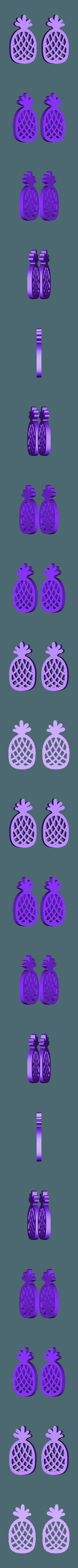 Pinnaple_STL.stl Download free STL file Pinnaple time • 3D printer design, Isi8Bit