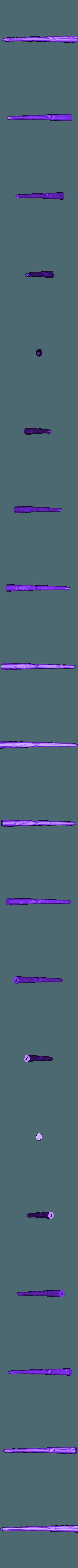 Fleur_3.STL Télécharger fichier STL gratuit Baguette Fleur Delacour • Objet imprimable en 3D, Absolute3D