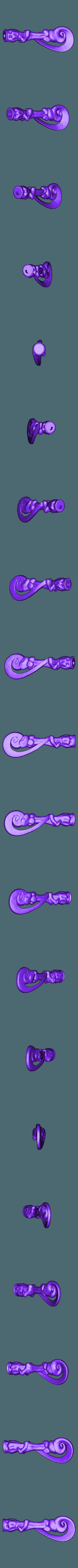 Fleur1.STL Télécharger fichier STL gratuit Baguette Fleur Delacour • Objet imprimable en 3D, Absolute3D