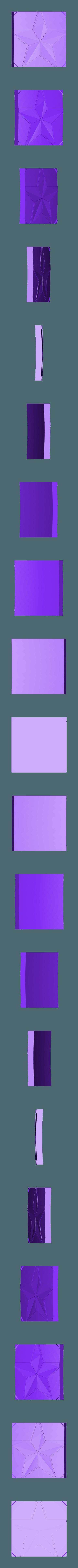 11.STL Télécharger fichier STL gratuit Bouclier du capitaine amérique (Entièrement détaillé) • Design pour imprimante 3D, Absolute3D