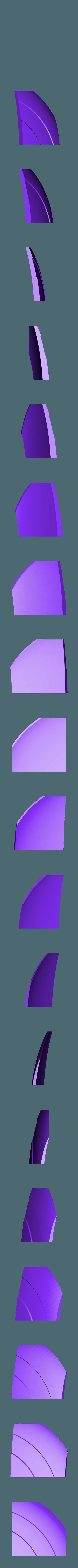 7.STL Télécharger fichier STL gratuit Bouclier du capitaine amérique (Entièrement détaillé) • Design pour imprimante 3D, Absolute3D