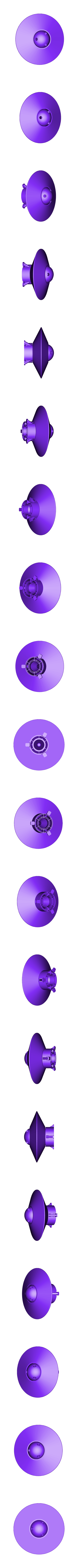 Spinning_UFO.stl Download free STL file UFO with Spinning Outer Disk • 3D printer design, Muzz64