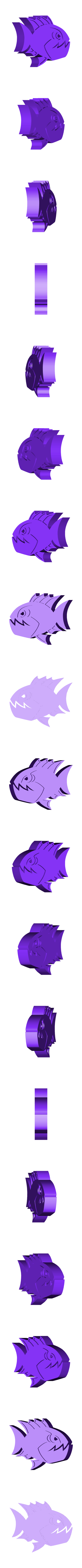 Fish.stl Download free STL file Angry Fish • Object to 3D print, Muzz64