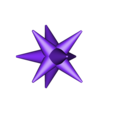 Christmas_Star.stl Download free STL file Christmas Star - For the top of your Christmas Tree! • 3D printer template, Muzz64