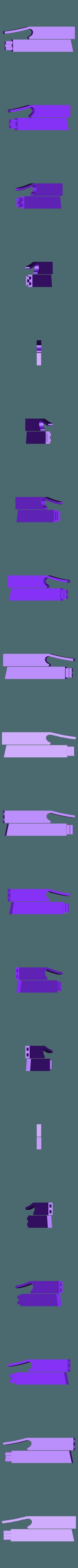 bike_stand.stl Télécharger fichier STL gratuit Support à vélo - 2 pièces pour utilisation sur route • Objet à imprimer en 3D, Muzz64