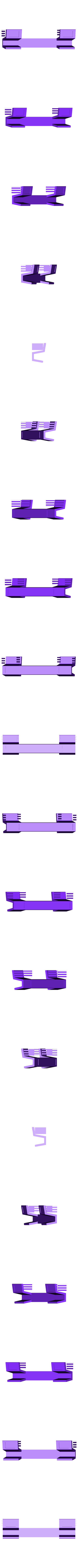 "Tilt_Stand.stl Download free STL file ""Tilt Bar"" angles Laptop Keyboards for improved comfort, ease of use and convenience • 3D printing design, Muzz64"