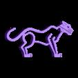 wild_catz.stl Télécharger fichier STL gratuit Wild Catz.... avec des mâchoires qui mordent et grognent ! • Plan imprimable en 3D, Muzz64