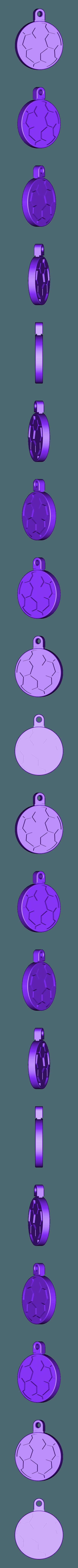 soccer_fob.stl Download free STL file Soccer Ball / Football Key Fob • 3D printable design, Muzz64