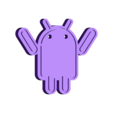 hands_up.stl Download free STL file Droids • 3D printable template, Muzz64