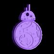 Droid_BB8.stl Download free STL file Rotating BB8 Droid and BB8 Key Fob • Design to 3D print, Muzz64