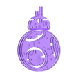 2clr_Droid_BB8_A.stl Download free STL file Rotating BB8 Droid and BB8 Key Fob • Design to 3D print, Muzz64
