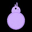 2clr_Droid_BB8_B.stl Download free STL file Rotating BB8 Droid and BB8 Key Fob • Design to 3D print, Muzz64