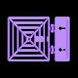 NERF_Target.stl Télécharger fichier STL gratuit Cible à ressort pour s'amuser avec le pistolet NERF ! • Modèle pour imprimante 3D, Muzz64