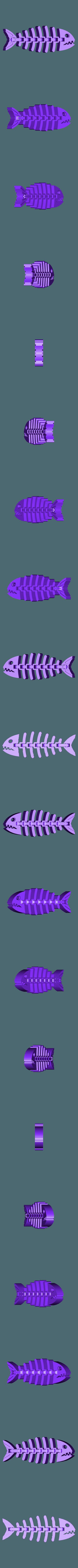 fish_fossilz.stl Download free STL file Fish Fossilz • 3D printing template, Muzz64