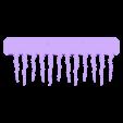 monster_comb.stl Télécharger fichier STL gratuit Peigne'Monstre • Design à imprimer en 3D, Muzz64