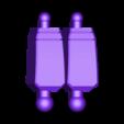 17_Bee_Leg2_Lowerleg_BLACK.stl Download free STL file ARTICULATED G1 TRANSFORMERS BUMBLEBEE - NO SUPPORT • 3D printing model, Toymakr3D