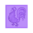 Chic.stl Download free STL file Rooster • 3D print template, Account-Closed