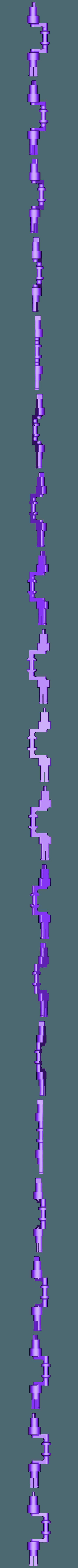 Crank_for_M5_Washer.stl Télécharger fichier STL gratuit Moteur pneumatique radial simple • Modèle pour imprimante 3D, Slava_Z