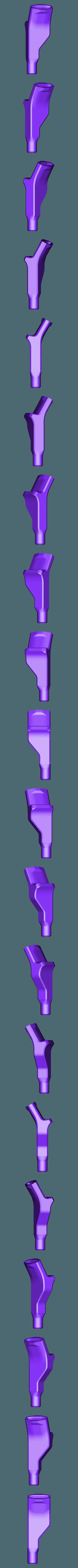 X_6mm_to_Whistle.stl Télécharger fichier STL gratuit Moteur pneumatique radial simple • Modèle pour imprimante 3D, Slava_Z
