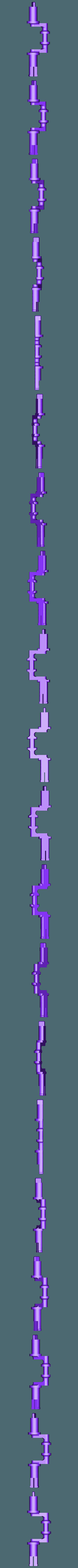 X_Crank_for_105ZZ_Bearing.stl Télécharger fichier STL gratuit Moteur pneumatique radial simple • Modèle pour imprimante 3D, Slava_Z