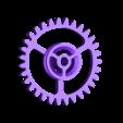 Gears_1to3_2.stl Télécharger fichier STL gratuit Moteur pneumatique radial simple • Modèle pour imprimante 3D, Slava_Z