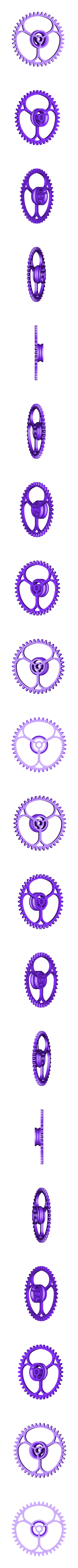 X_Gears_1to8_2_Bevels.stl Télécharger fichier STL gratuit Moteur pneumatique radial simple • Modèle pour imprimante 3D, Slava_Z