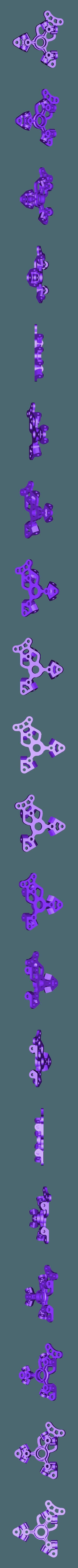 Frame_Top.stl Télécharger fichier STL gratuit Moteur pneumatique radial simple • Modèle pour imprimante 3D, Slava_Z