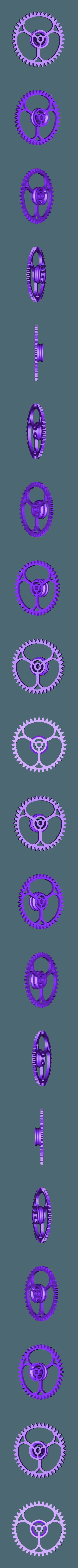 Gears_1to8_2.stl Télécharger fichier STL gratuit Moteur pneumatique radial simple • Modèle pour imprimante 3D, Slava_Z