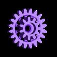 Gears_1to8_1.stl Télécharger fichier STL gratuit Moteur pneumatique radial simple • Modèle pour imprimante 3D, Slava_Z