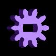 Gear_Center.stl Télécharger fichier STL gratuit Moteur pneumatique radial simple • Modèle pour imprimante 3D, Slava_Z