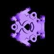 Frame_Bottom.stl Télécharger fichier STL gratuit Moteur pneumatique radial simple • Modèle pour imprimante 3D, Slava_Z