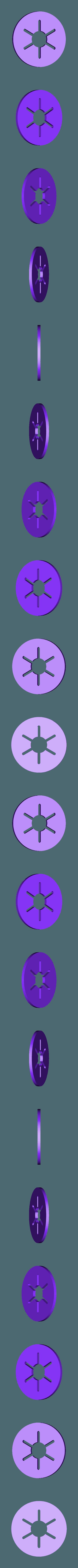 Piston_Washer_x6.stl Télécharger fichier STL gratuit Moteur pneumatique radial simple • Modèle pour imprimante 3D, Slava_Z