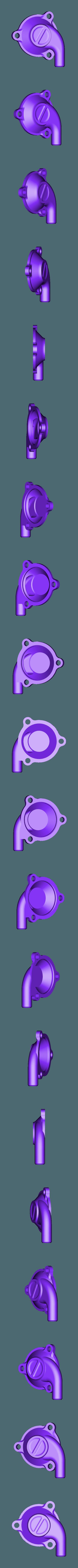 X_Valve_Lid_6mm_Flat.stl Télécharger fichier STL gratuit Moteur pneumatique radial simple • Modèle pour imprimante 3D, Slava_Z