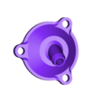 X_Valve_Lid_6mm_Vert.stl Télécharger fichier STL gratuit Moteur pneumatique radial simple • Modèle pour imprimante 3D, Slava_Z