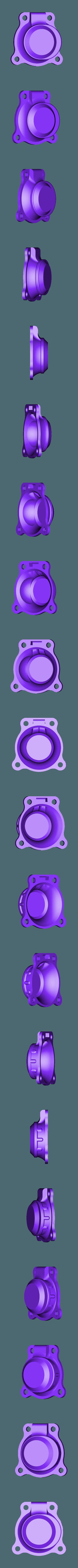 Cylider_Back_Lid_x3.stl Télécharger fichier STL gratuit Moteur pneumatique radial simple • Modèle pour imprimante 3D, Slava_Z