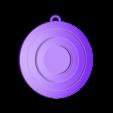 red.stl Télécharger fichier STL gratuit Porte-clés Captain America Shield • Modèle pour impression 3D, LucasLabrador