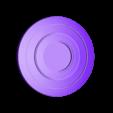 red_no_ring.stl Télécharger fichier STL gratuit Porte-clés Captain America Shield • Modèle pour impression 3D, LucasLabrador