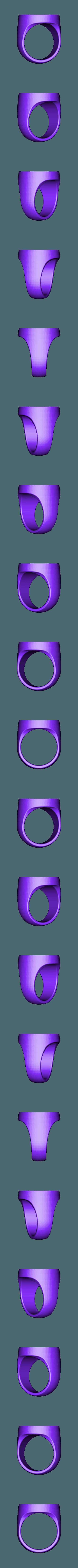 Sapphire_Lantern_Ring_pt1.STL Télécharger fichier STL gratuit Bague de lanterne en saphir pour double extrusion • Modèle imprimable en 3D, niceandeasy