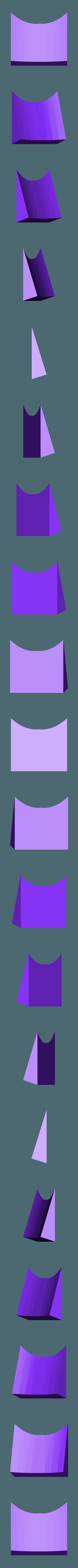 Front_carriage_-stiffener.stl Télécharger fichier STL gratuit Train d'atterrissage et roues amovibles pour Bixler 2 • Objet imprimable en 3D, niceandeasy