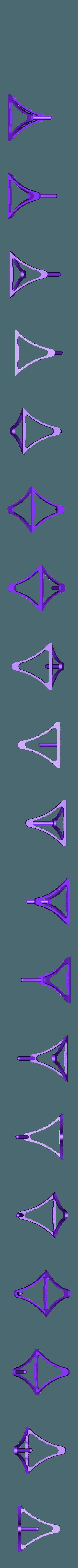 Spool_Holder.stl Download free STL file 1 piece smart filament spool holder • 3D printer model, niceandeasy