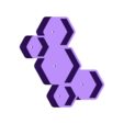 Honeycomb_Pot.stl Download free STL file Honeycomb Pot • 3D printer template, Isi8Bit
