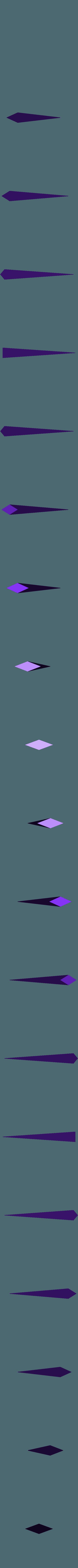 nail_tip.stl Télécharger fichier STL gratuit Clou cannelé de Hollow Knight • Modèle à imprimer en 3D, Lance_Greene