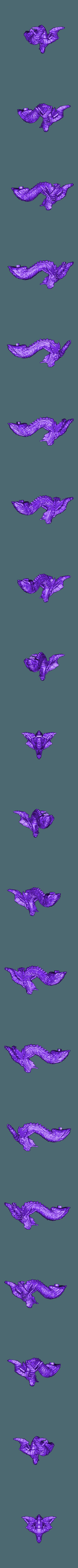 undead_dragon_head.stl Download free STL file Undead dragon • 3D print model, schlossbauer