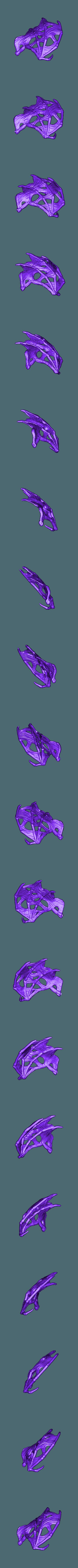 undead_dragon_left_wing.stl Download free STL file Undead dragon • 3D print model, schlossbauer