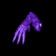 undead_dragon_right_arm.stl Download free STL file Undead dragon • 3D print model, schlossbauer