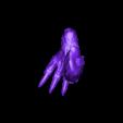 undead_dragon_right_leg.stl Download free STL file Undead dragon • 3D print model, schlossbauer