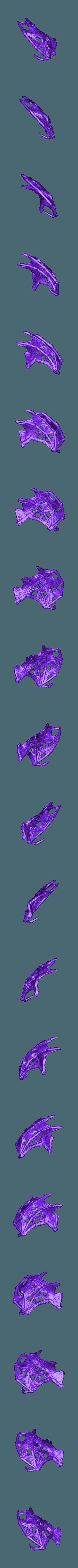 undead_dragon_right_wing.stl Download free STL file Undead dragon • 3D print model, schlossbauer