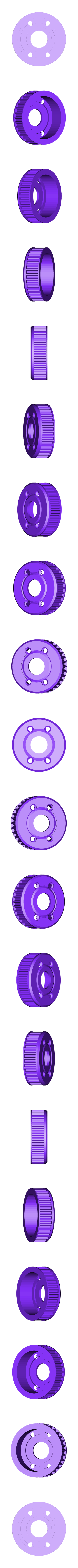 Option - FSdiffpulley.STL Download free STL file Mk Ultra - 3D printable 1/10 4wd buggy • Object to 3D print, tahustvedt