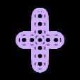 cross_5_7.STL Télécharger fichier STL gratuit MEGA Expansion 200+ Pièces • Plan à imprimer en 3D, Pwentey